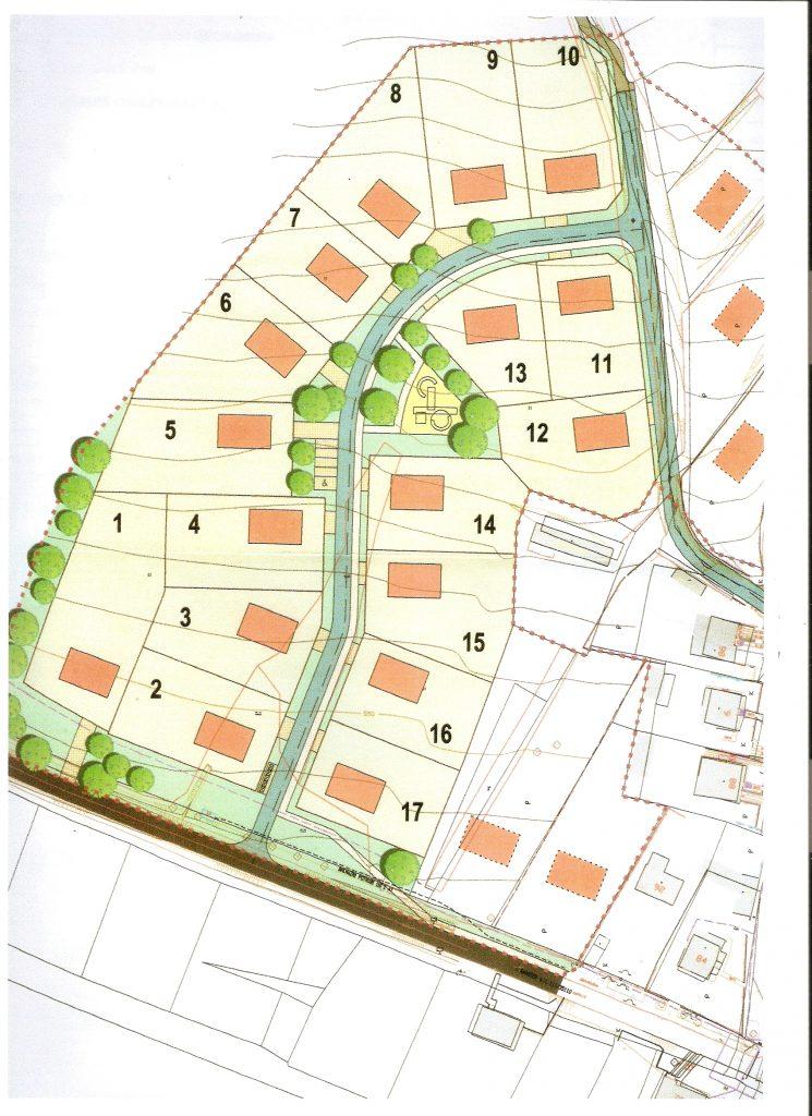 Stavební parcely v obci Svatoslav